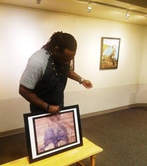 Adrian Blake exhibition 2